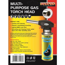 Bond Hardware Multipurpose Gas Blow Torch + 4