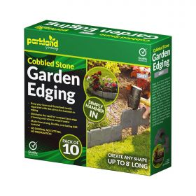10 Pack Cobbled Stone Garden Edging