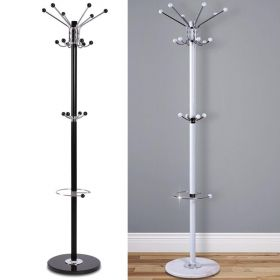 16 Hook Metal Coat Stand